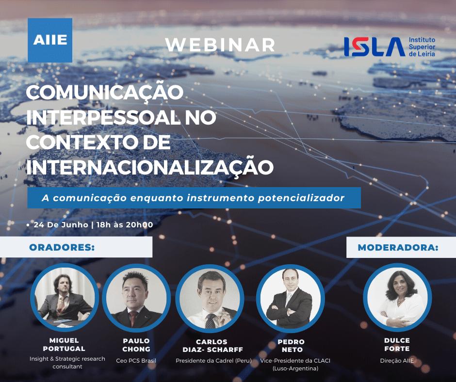 Comunicação Interpessoal no Contexto de Internacionalização